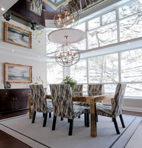 Allegro Interiors Toronto Interior Decorating and Design Double the View