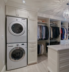 Allegro Interiors Toronto Interior Decorating and Design Laundry Luxury