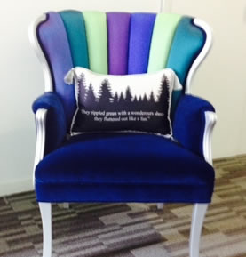 Allegro Interiors Toronto Interior Decorating and Design Northern Lights Chair