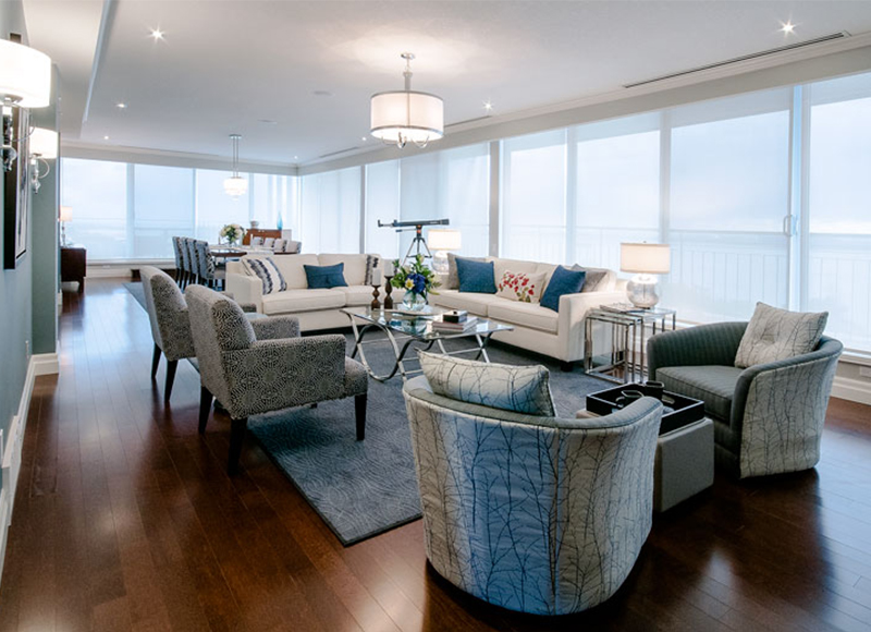 Allegro Interiors Toronto Interior Decorating and Design Living Room