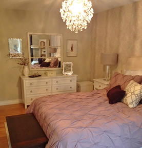 Allegro Interiors Toronto Interior Decorating and Design Swedish Country-Inspired Master Bedroom