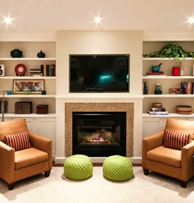 Allegro Interiors Toronto Interior Decorating and Design Mid-Town Family Room