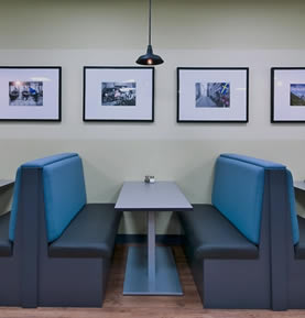 Allegro Interiors Toronto Interior Decorating and Design The Green Bean Corporate Lounge